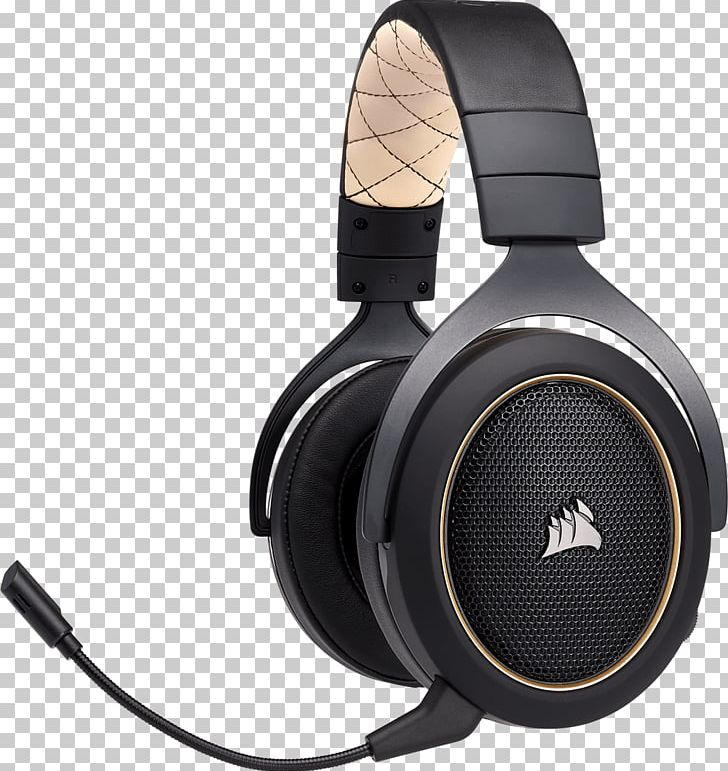 af261d90944 Corsair HS70 Wireless Gaming Headset With 7.1 Surround Sound Corsair Gaming  HS70 Wireless Headphones Corsair Components ...