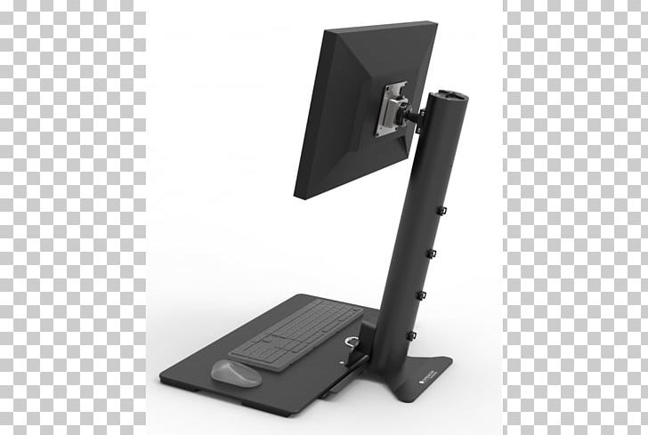 Sit-stand Desk Computer Keyboard Computer Mouse Computer Monitors Standing Desk PNG, Clipart, Angle, Computer Keyboard, Computer Monitor Accessory, Computer Mouse, Desk Free PNG Download