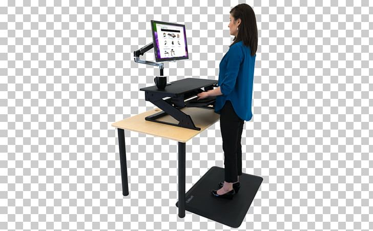 Standing Desk Standing Desk Sit-stand Desk Office Supplies PNG, Clipart, Angle, Balance, Bene Ag, Computer Monitor Accessory, Converter Free PNG Download
