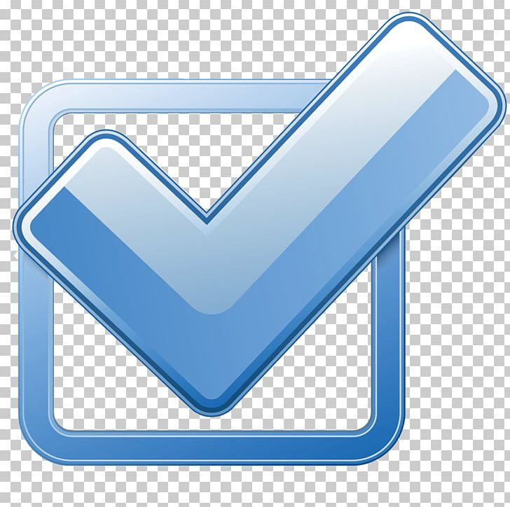 Check Mark Checkbox Computer Icons PNG, Clipart, Angle, Blue, Button, Check, Checkbox Free PNG Download