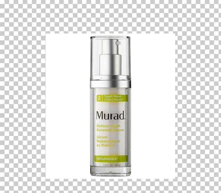 Murad Retinol Youth Renewal Serum Skin Care Wrinkle PNG