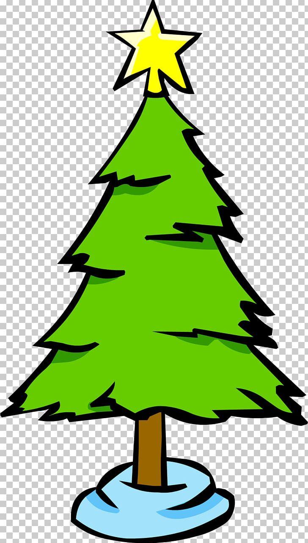 Christmas Tree Club Penguin Christmas Decoration Png