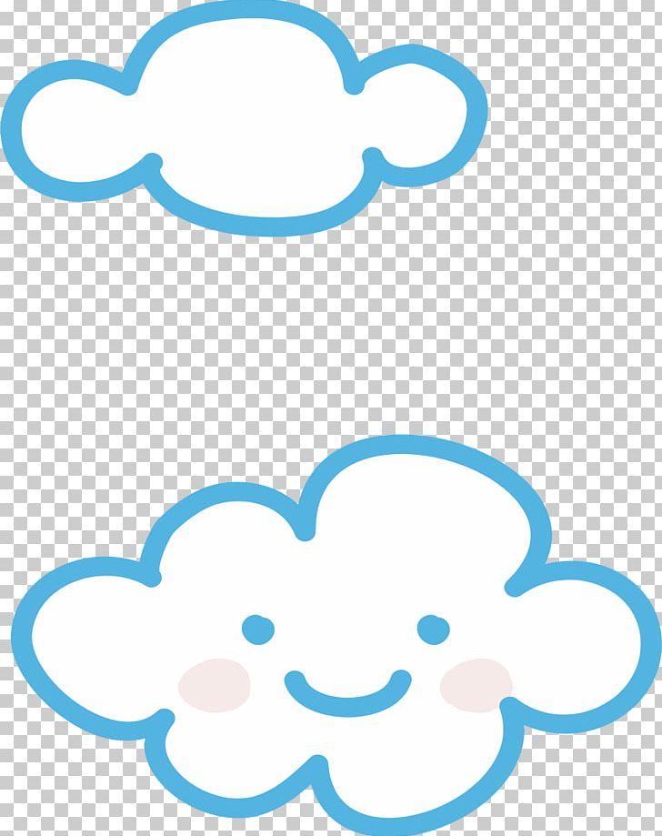 Cartoon clouds cute. Cloud iridescence speech balloon