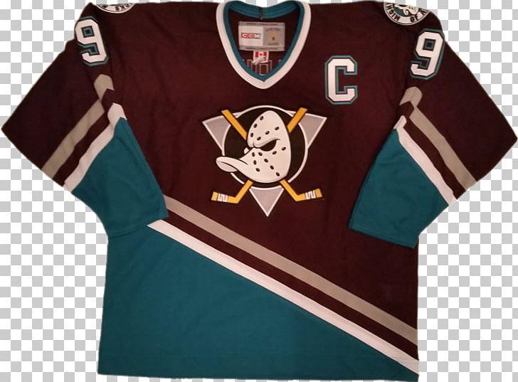 hot sales 19d0b 38f22 Anaheim Ducks National Hockey League T-shirt Hockey Jersey ...