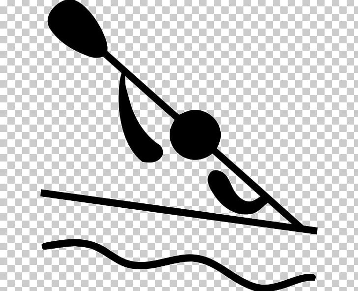 Canoeing And Kayaking At The Summer Olympics Canoe Slalom PNG, Clipart, Artwork, Black, Black And White, Canoe, Canoeing Free PNG Download