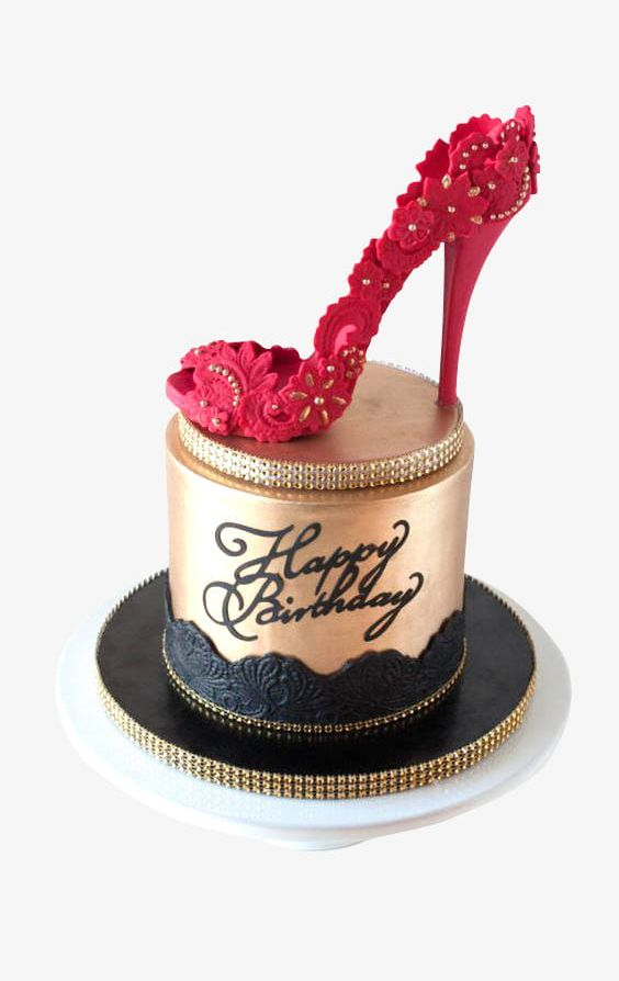 Cool Free Cake Pull Red High Heels Png Clipart Birthday Cake Cake Birthday Cards Printable Inklcafe Filternl