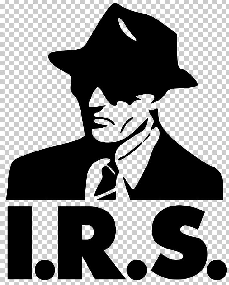 IRS Clip Art Black and White
