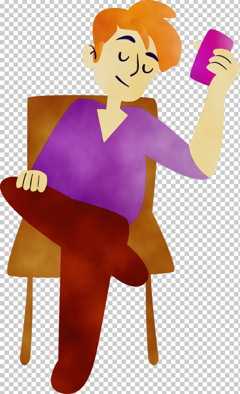 Human Character Purple Behavior Character Created By PNG, Clipart, Behavior, Character, Character Created By, Human, Paint Free PNG Download
