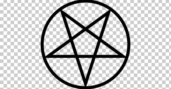 Pentagram Pentacle PNG, Clipart, Angle, Area, Black And White, Circle, Computer Icons Free PNG Download