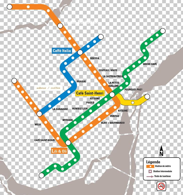 Montrela Subway Map.Rapid Transit Montreal Metro Commuter Station Villa Maria Station