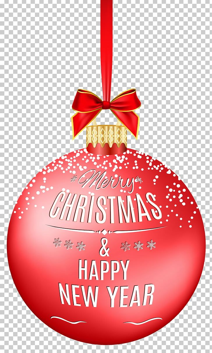 Merry Christmas Ball, Happy New Year PNG, Clipart, Christmas, Christmas And Holiday Season, Christmas Decoration, Christmas Ornament, Christmas Red Ball Free PNG Download