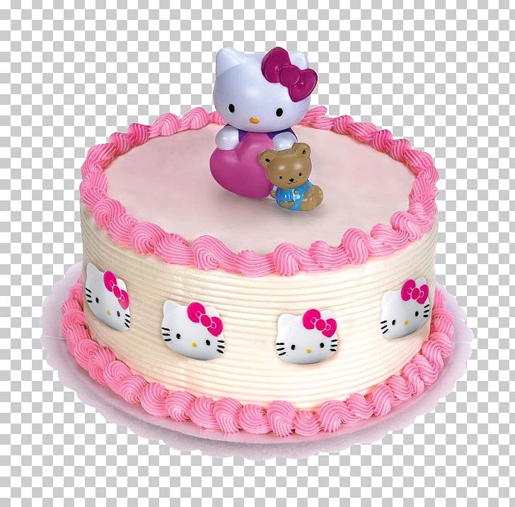 Terrific Hello Kitty Cupcake Frosting Icing Birthday Cake Png Clipart Personalised Birthday Cards Paralily Jamesorg