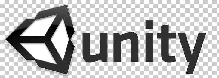 Unity Video Game Developer Logo PNG, Clipart, 3 D, Angle, Black, Black And White, Brand Free PNG Download