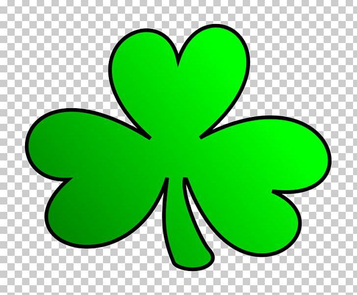 Shamrock Saint Patricks Day PNG, Clipart, Area, Cartoon, Clover, Flowering Plant, Fourleaf Clover Free PNG Download