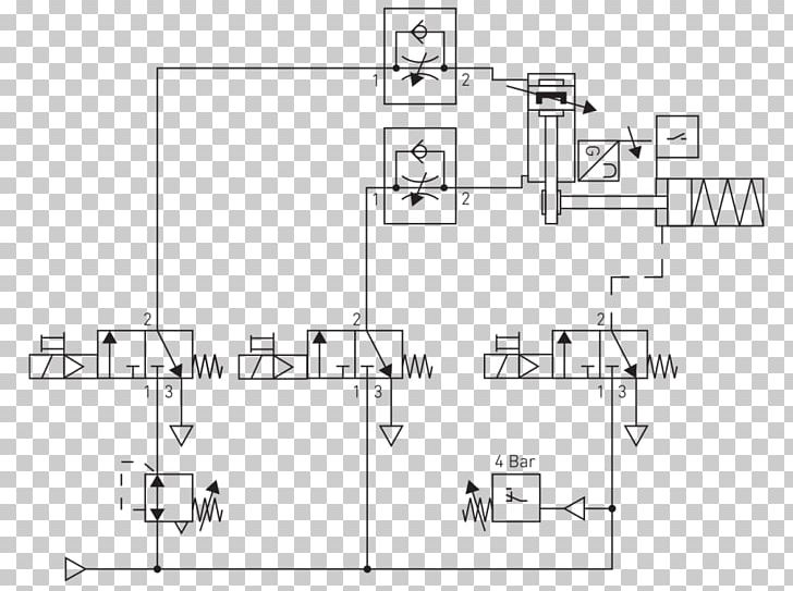 schematic circuit diagram wiring diagram pneumatic circuit Wiring Schematic Symbols