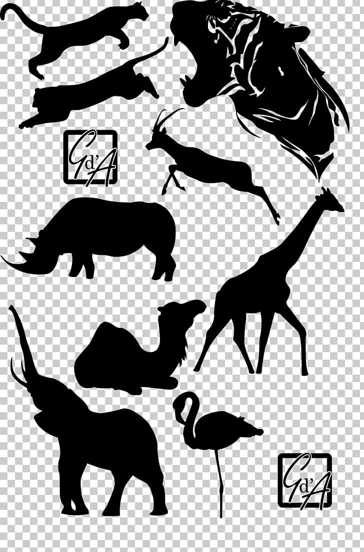 Mustang Dog Pack Animal Silhouette PNG, Clipart, Black, Black And White, Black M, Canidae, Carnivoran Free PNG Download