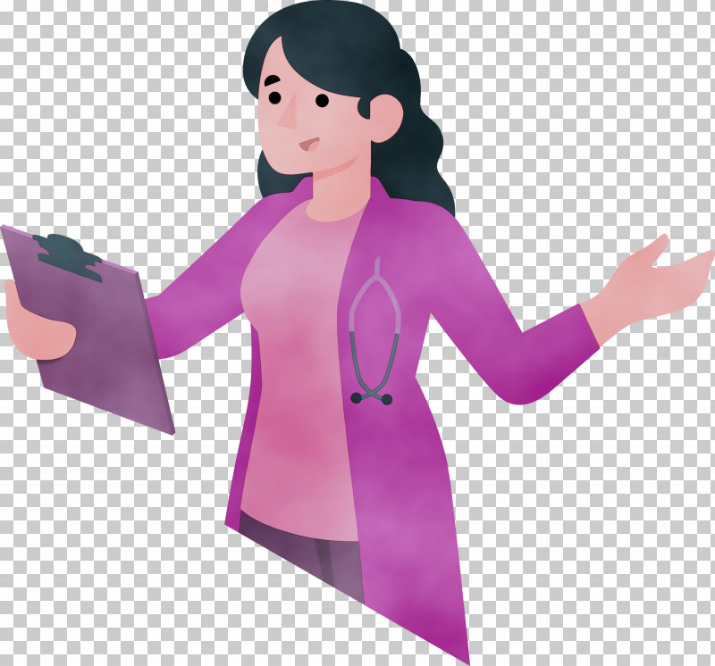 Character Pink M Cartoon Character Created By PNG, Clipart, Cartoon, Cartoon Doctor, Character, Character Created By, Doctor Free PNG Download