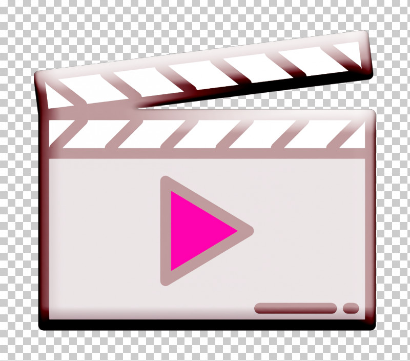 Movie  Film Icon Clapperboard Icon PNG, Clipart, Clapperboard Icon, Envelope, Line, Material Property, Movie Film Icon Free PNG Download