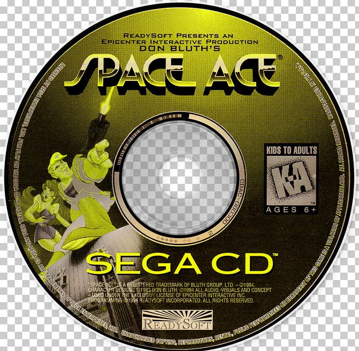 Space Ace Sega CD Super Nintendo Entertainment System