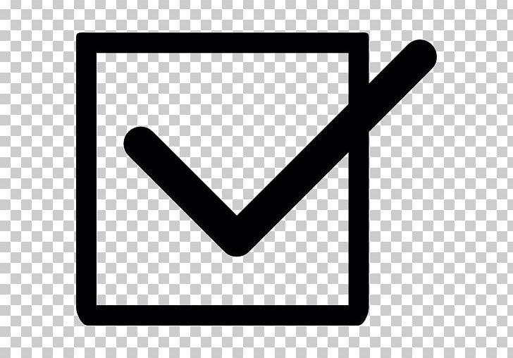 Check Mark Checkbox Computer Icons PNG, Clipart, Angle, Area, Arrow, Black, Black And White Free PNG Download