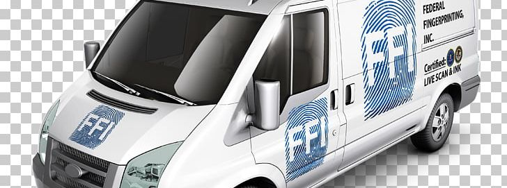 Car Van Vehicle Wrap Advertising Federal Fingerprinting