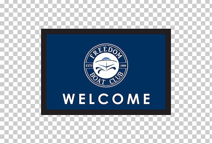 Freedom Boat Club Mat Signage Logo PNG, Clipart, Area, Boat