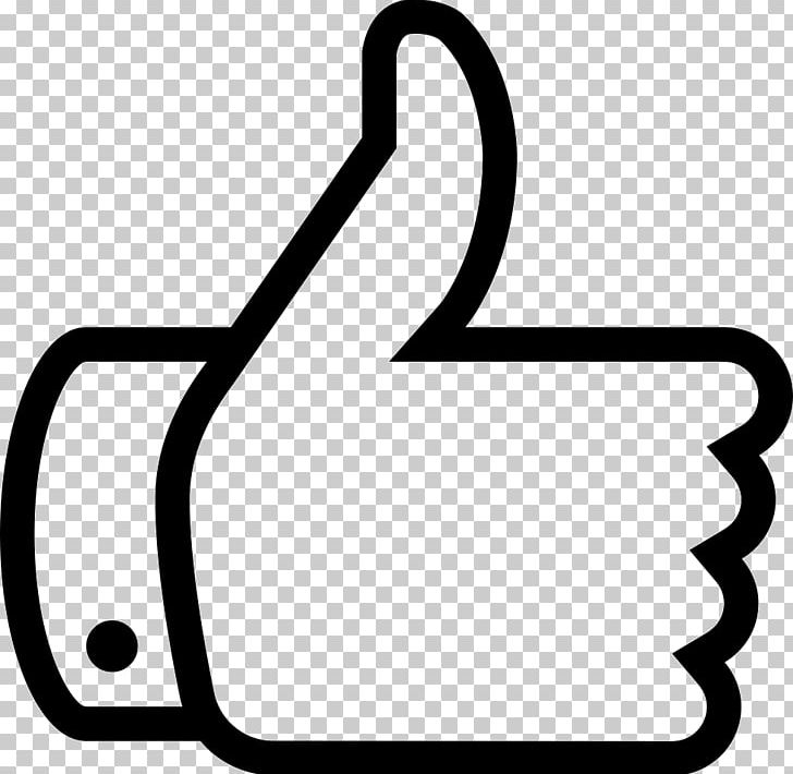 Computer Icons Social Media Like Button Thumb Signal PNG, Clipart, Area, Black And White, Computer Icons, Font Awesome, Internet Free PNG Download