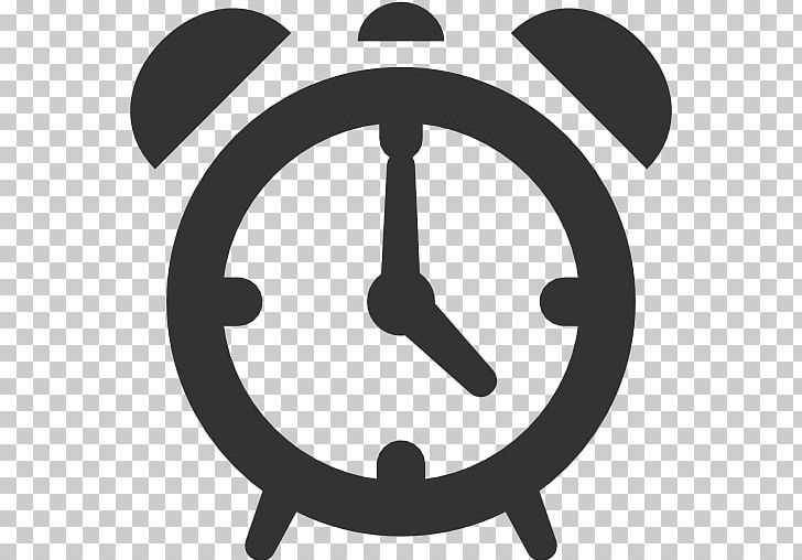 Computer Icons Alarm Clocks PNG, Clipart, Alarm Clocks, Apple Icon Image Format, Attribution, Black And White, Circle Free PNG Download