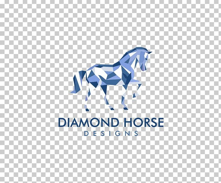 Horse Logo Graphic Design PNG, Clipart, Animals, Area, Art, Blue, Brand Free PNG Download