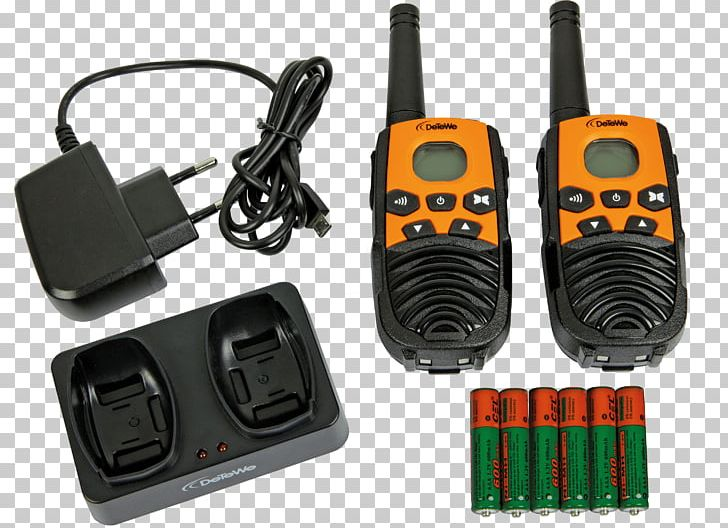 PMR446 Two-way Radio Walkie-talkie Radio Receiver Detewe Communications Gmbh PNG, Clipart, 2 X, Amazoncom, Detewe Communications Gmbh, Electronic Component, Electronics Free PNG Download