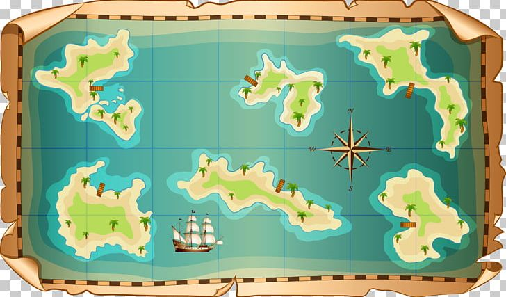 Treasure Map World Map PNG, Clipart, Compass, Map, Nautical Chart