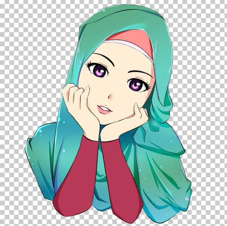 Hijab Cartoon Islam Drawing Anime PNG, Clipart, Animated Cartoon, Anime, Art, Beauty, Cartoon Free PNG Download