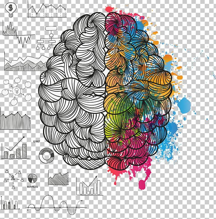 Lateralization Of Brain Function Painting Cerebral Hemisphere PNG, Clipart, Brain, Brain Vector, Cerebral, Chart, Circle Free PNG Download