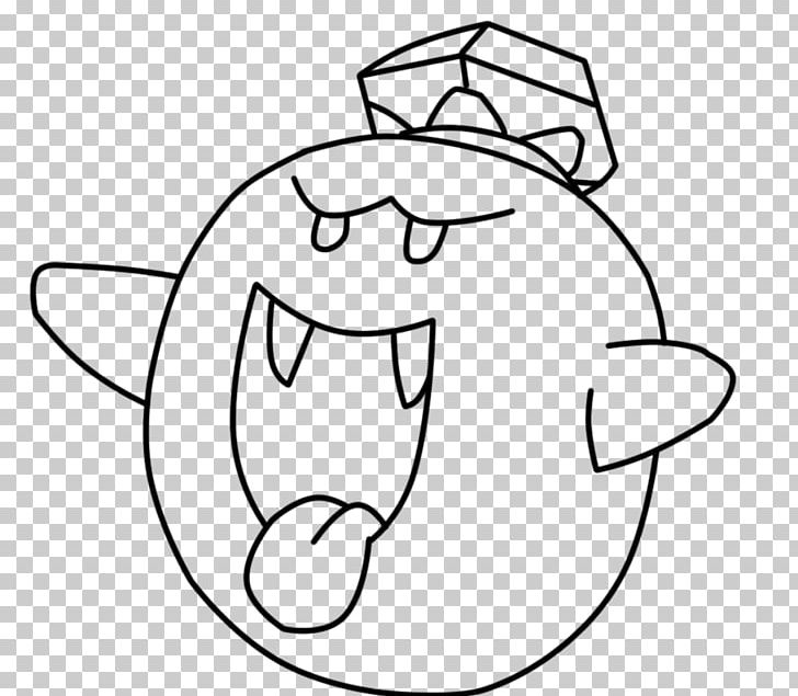 Mario Bros. Coloring Book King Boo Boos PNG, Clipart, Angle, Art, Black,  Black And White, Boos