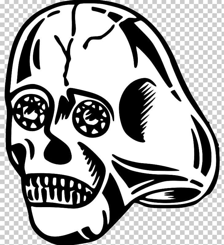 Human Skull Symbolism Bone PNG, Clipart, Alien, Artwork, Black And White, Bone, Comic Book Free PNG Download