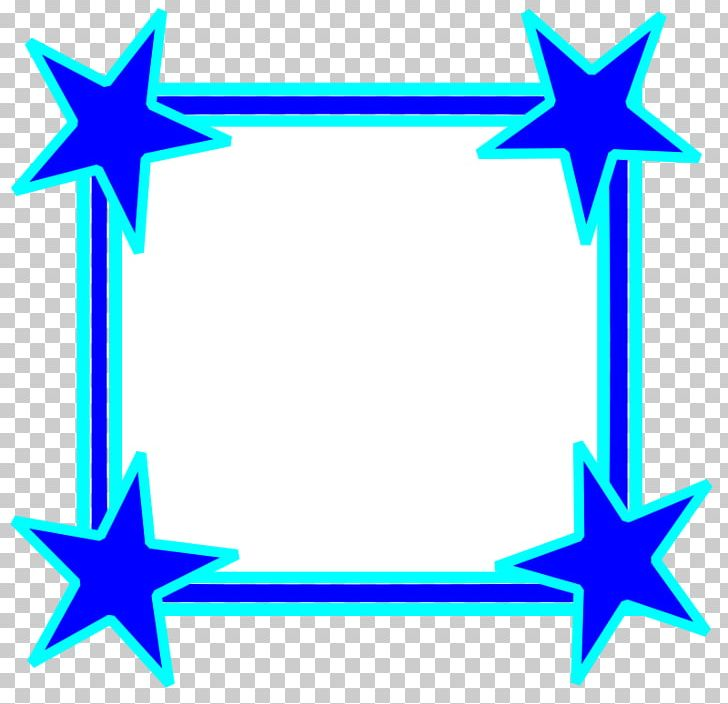 Borders And Frames Frame Star PNG, Clipart, Blue, Borders And Frames, Circle, Color, Free Content Free PNG Download