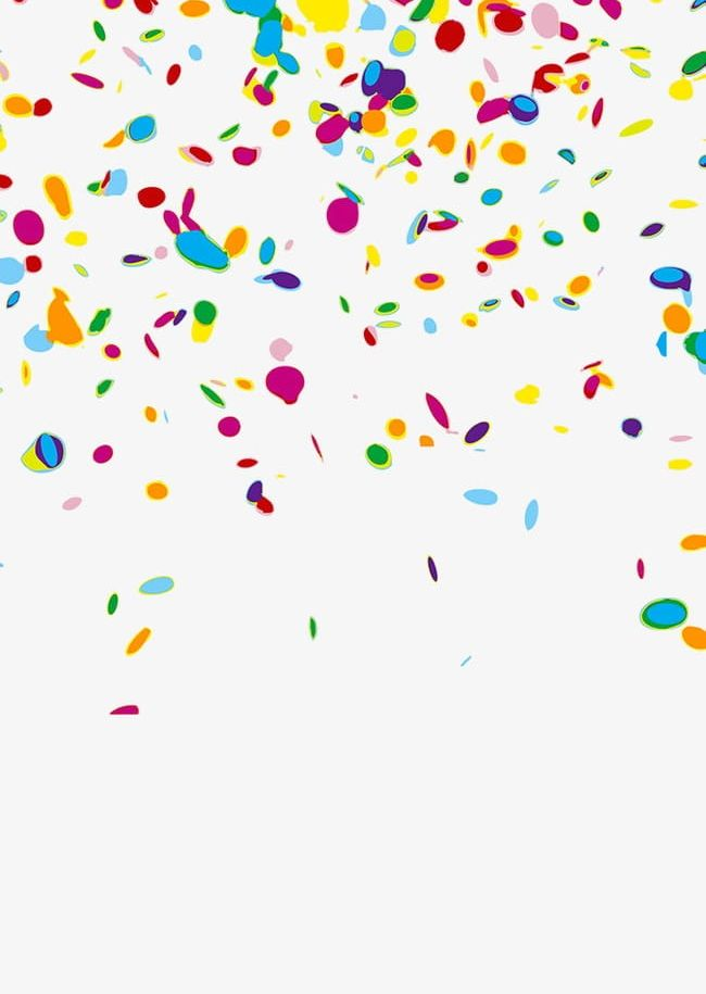 Confetti PNG, Clipart, Abstract, Anniversary, Backgrounds