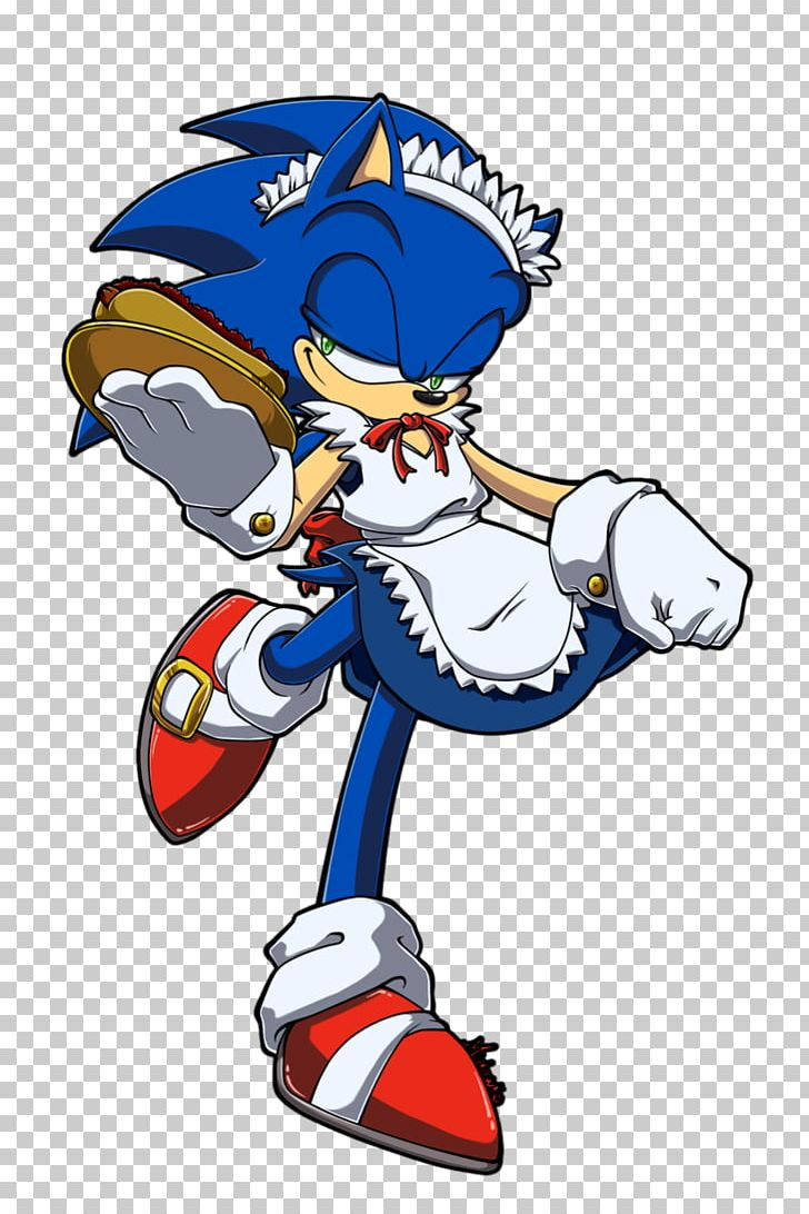 French Maid Sonic Drive In Sonic The Hedgehog Shadow The Hedgehog Png Clipart Art Cartoon Fiction