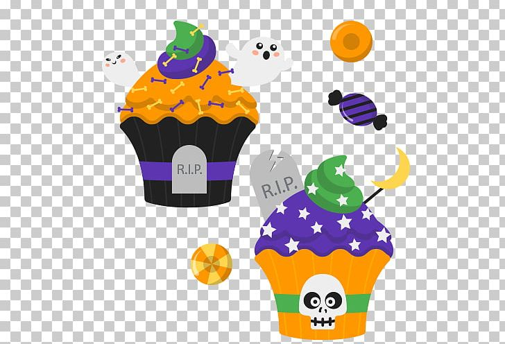Cupcake Halloween Cake PNG, Clipart, Candy, Cartoon, Clip Art, Cream, Cupcake Free PNG Download