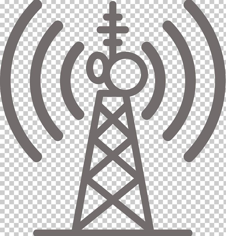 Telecommunications Tower Cell Site Mobile Phones PNG