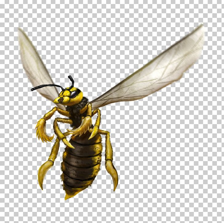 Fantasy Art Giant Wasp