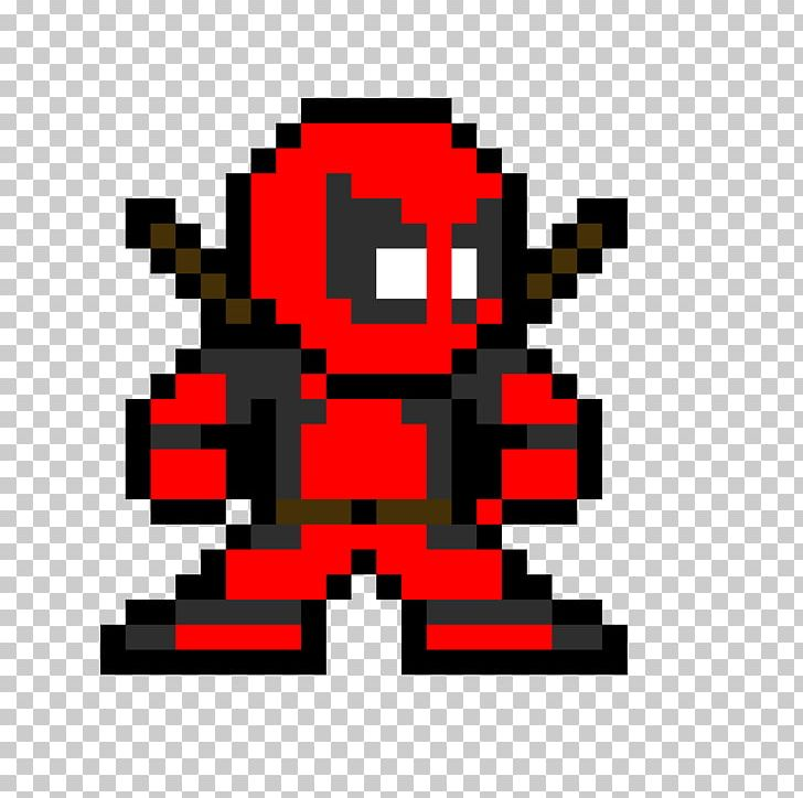 Deadpool Spider Man Pixel Art Png Clipart Art Arts Bead