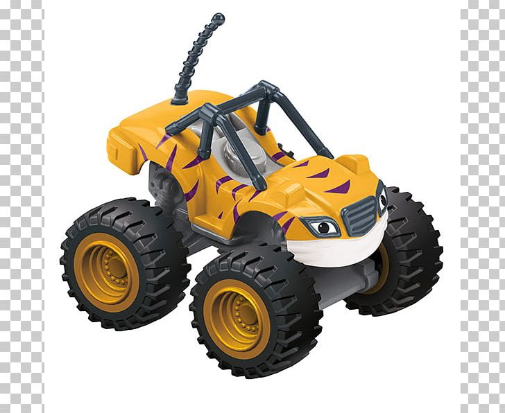 Fisher Price Blaze And The Monster Machines Darington Die Cast Toy