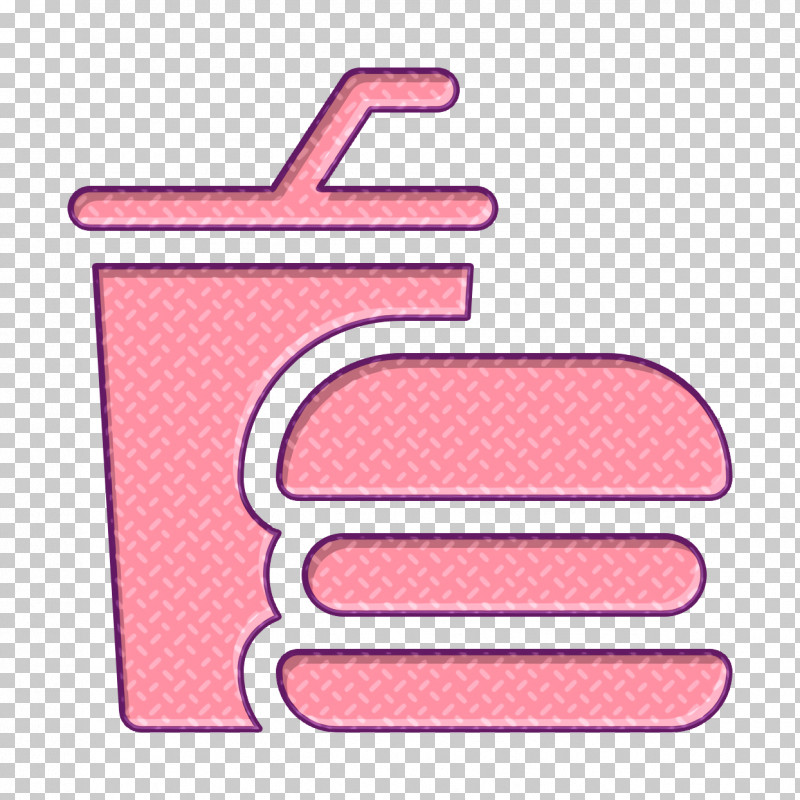 Amusement Park Icon Burger Icon Fast Food Icon PNG, Clipart, Amusement Park Icon, Burger Icon, Fast Food Icon, Line, Pink Free PNG Download