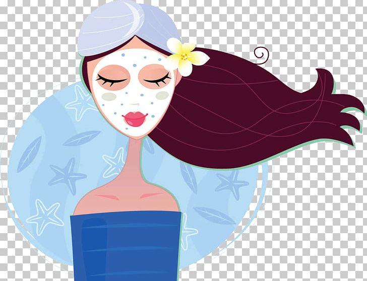 Day Spa Facial Png Clipart Apply Apply Mask Art Asleep