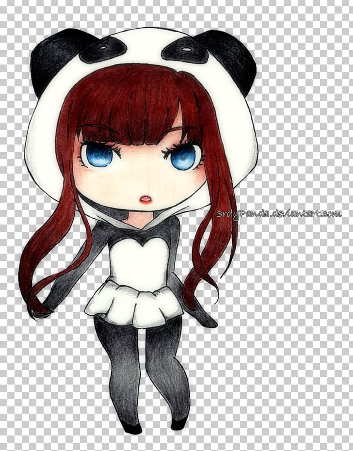 Giant Panda Chibi Drawing Anime Kavaii Png Clipart Anime Bear