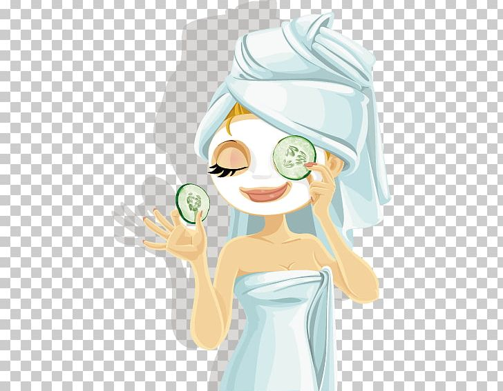 Day Spa Facial Beauty Parlour Png Clipart Beautiful Girl Carnival Mask Cartoon Cartoon Beauty Cosmetics Free
