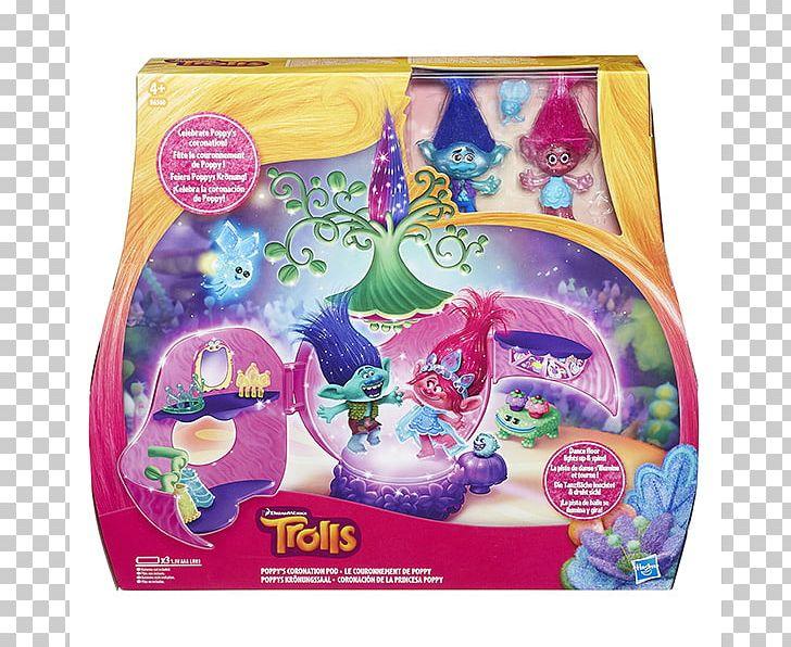 Hasbro Poppys Coronation Dreamworks Trolls Poppys Coronation Pod