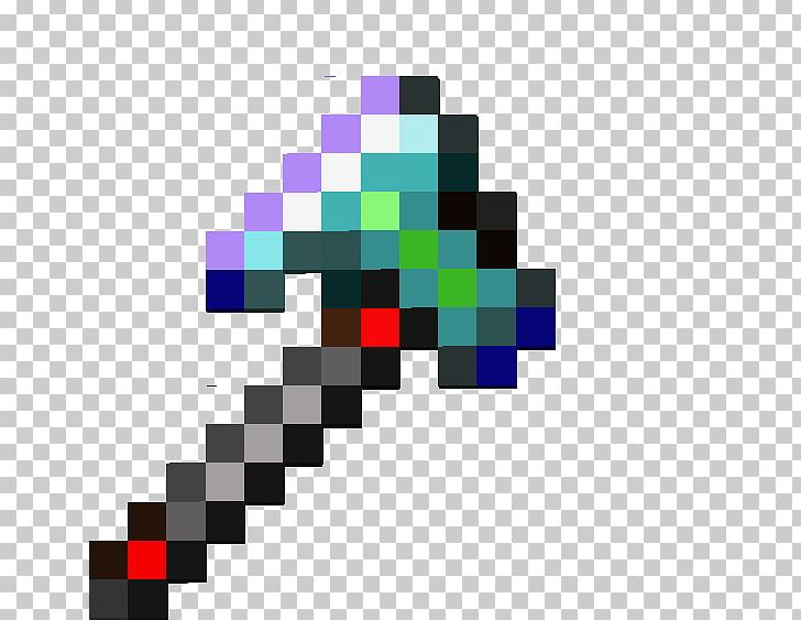 Minecraft Pickaxe Diamond PNG, Clipart, Axe, Battle Axe
