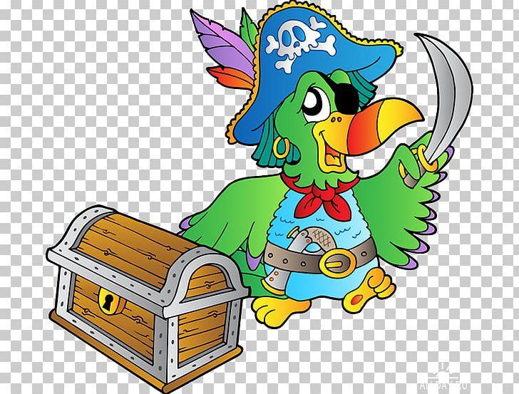 Pirate Parrot Piracy Buried Treasure PNG, Clipart, Animals, Art, Artwork, Bird, Buried Treasure Free PNG Download